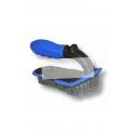 Polster- und Teppichbürste mit Comfort-Stiel