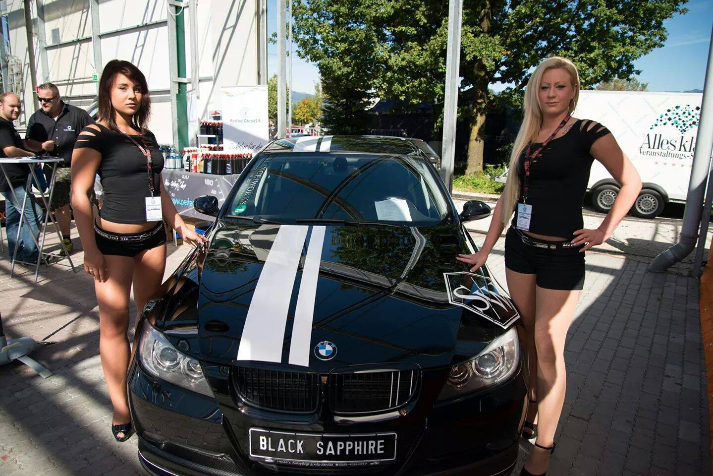Black Sapphire sponsored by PerfectClean24