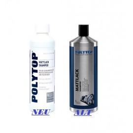 Mattlack Shampoo 500ml / Polytop