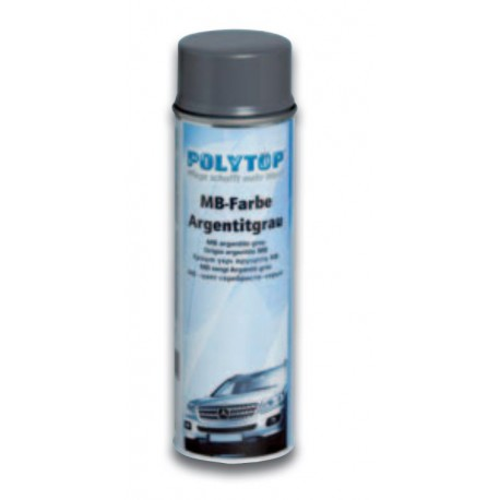 Polytop Mercedes Benz Lack - Argentit Grau 500ml Dose
