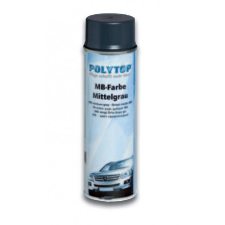 Polytop Mercedes Benz Lack - Mittelgrau 500ml Dose