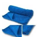 Microfasertuch Professional -Blau- Doppelweb (Fest -/ Flauschig)